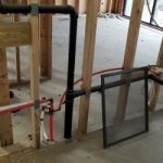 Plumbing relocation using ABS s
