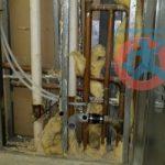 Relocation of plumbing s 2