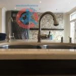 Kitchen tap in Toronto house s