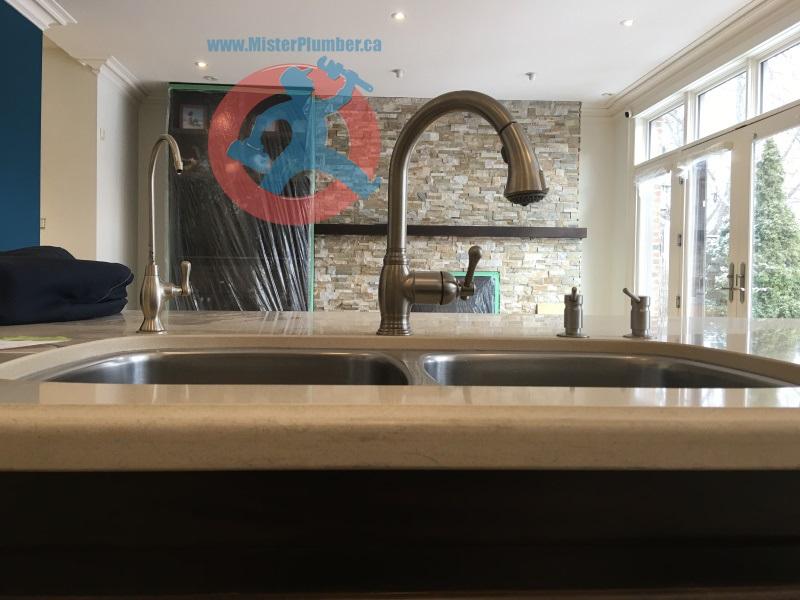 Kitchen tap in Toronto