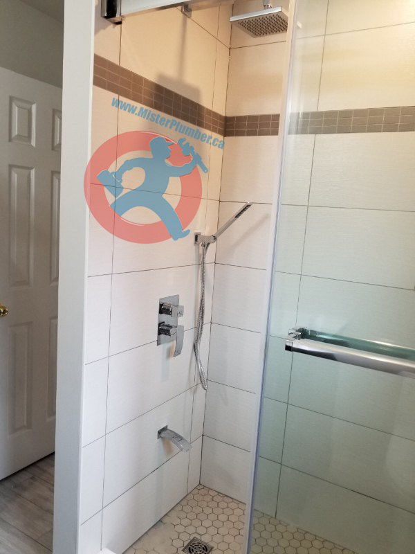 Shower tap install