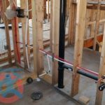 Plumbing rough in for 3pc washroom s