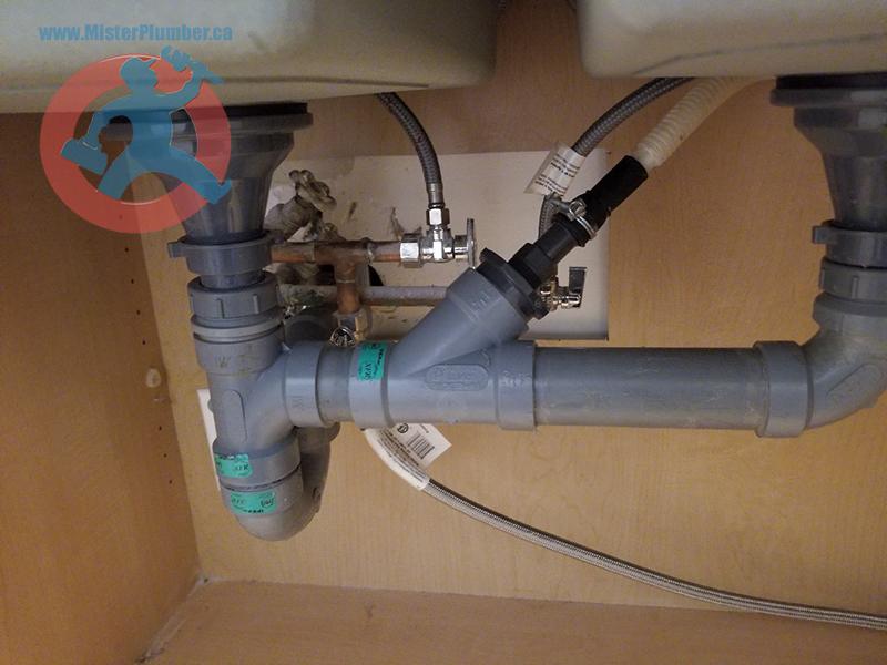 Kitchen XFR drain