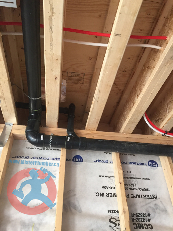 Plumbing for new house