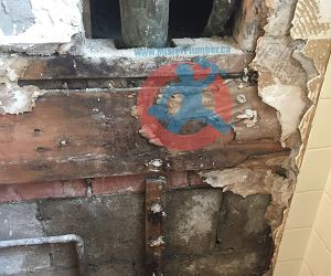 Water-damage-from-broken-drain-stack-s