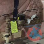 Water meter connection