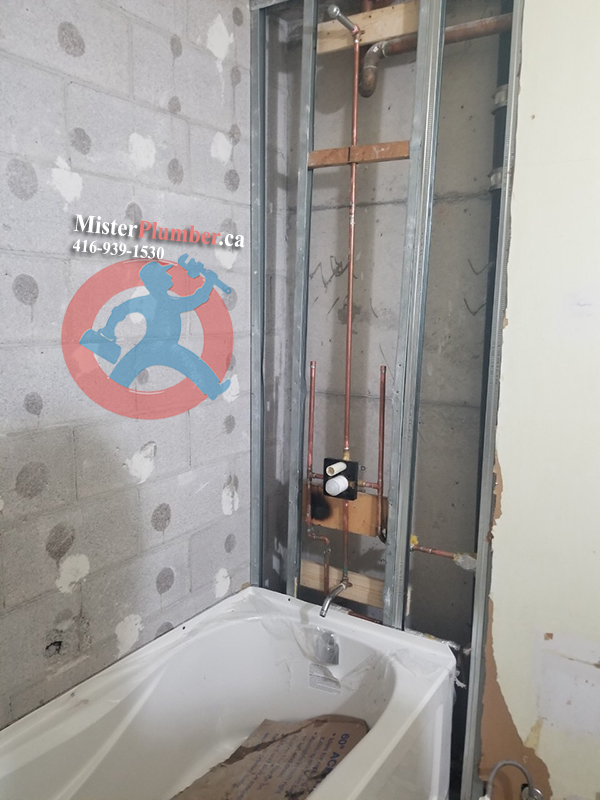 Tub and faucet installation Toronto