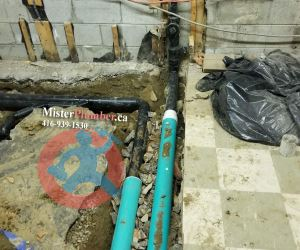 Drainage system upgrade in Toronto