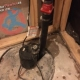 Sump pump in a cold room