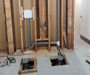 Plumbing Installation Using XFR Pipes