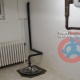 Sump pit with sump pump in Toronto basement