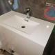Contemporary vanity in Toronto condo unit installed by Mister Plumber