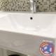 Wall hung vanity faucet