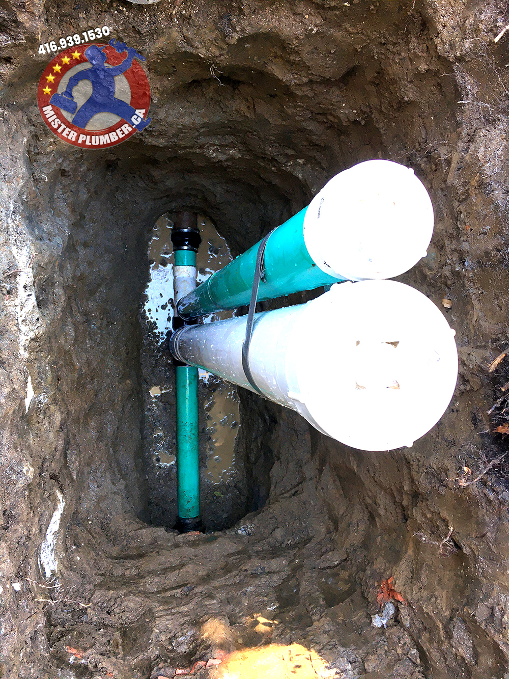 Drain service in Toronto by Mister Plumber