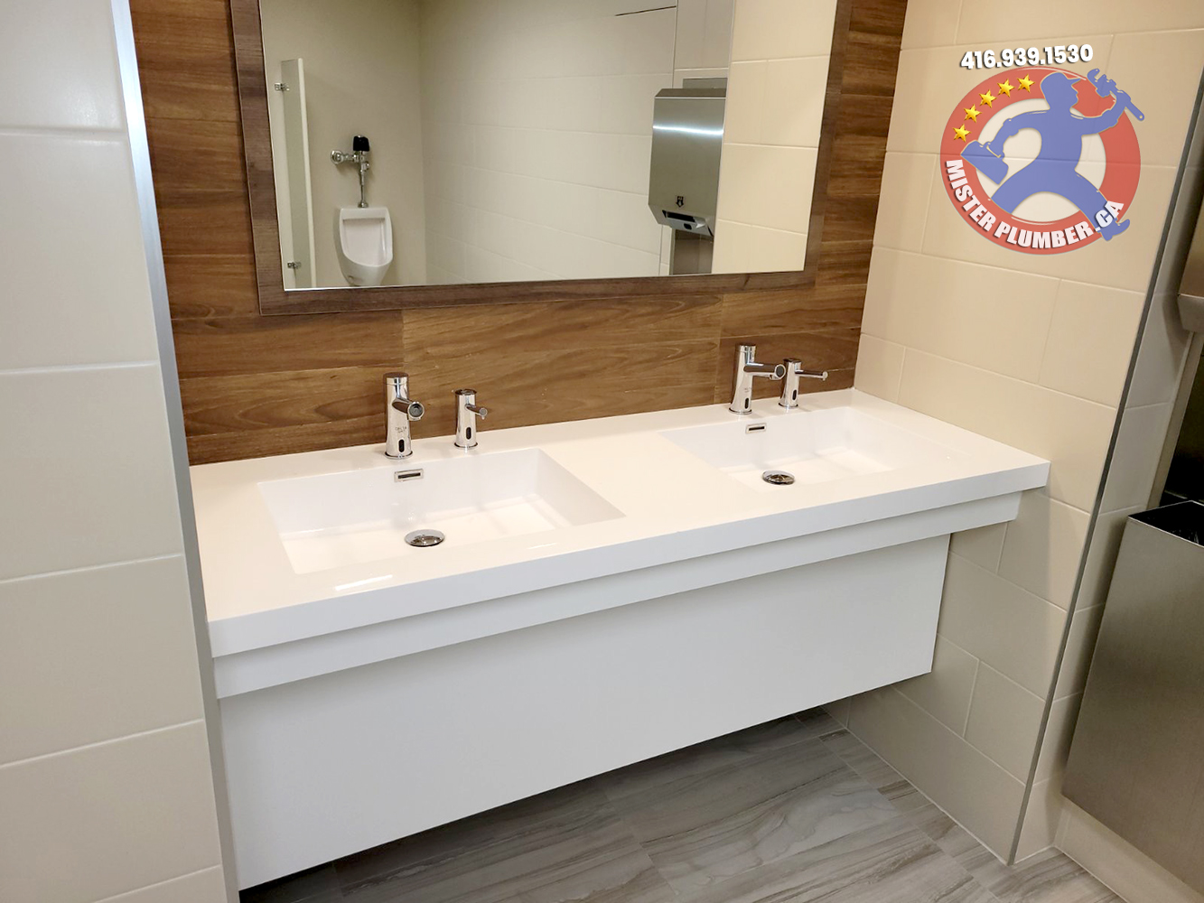 Professional plumbing service by Mister Plumber